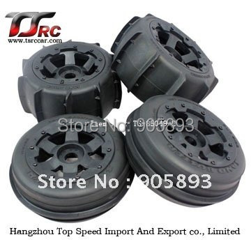 2pcs Front & 2pcs Rear To Adopt Advanced Technology Sand Paddle Tyres X 4pcs For Baja 5b,baja 5b Sand Tyre Set