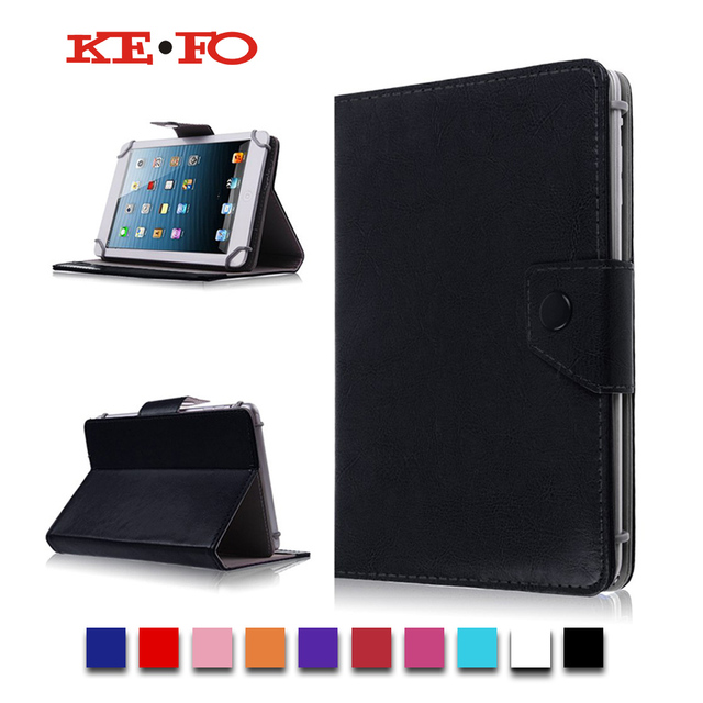 half off 6e27a b08c6 US $5.53 44% OFF|PU Leather Stand case Cover For Alcatel OneTouch Pixi 4  (7) 3G fundas para tablet 7 universal bags for kids M2C43D-in Tablets & ...