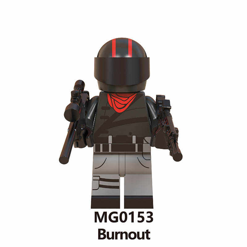Building Blocks Legoings Fortress Night Skin Trooper Wild Card Brite Bomber Merry Bumout Scorpion Bricks Mini Figures Toys Gifts