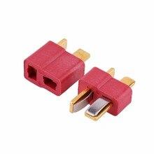 10pcs T Plug Male Female Connectors Deans Style For RC ESC LiPo font b Battery b