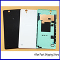 Original New Back Cover For Sony Xperia C4 Dual Xperia Cosmos E5333 Housing Battery Door Case + NFC Connector, Black/White/Green