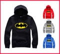 Free Shipping 4 Colors Mens Batman Hoodie Big Bang Shelton Batman Hoody Big Size Hooded Fleece