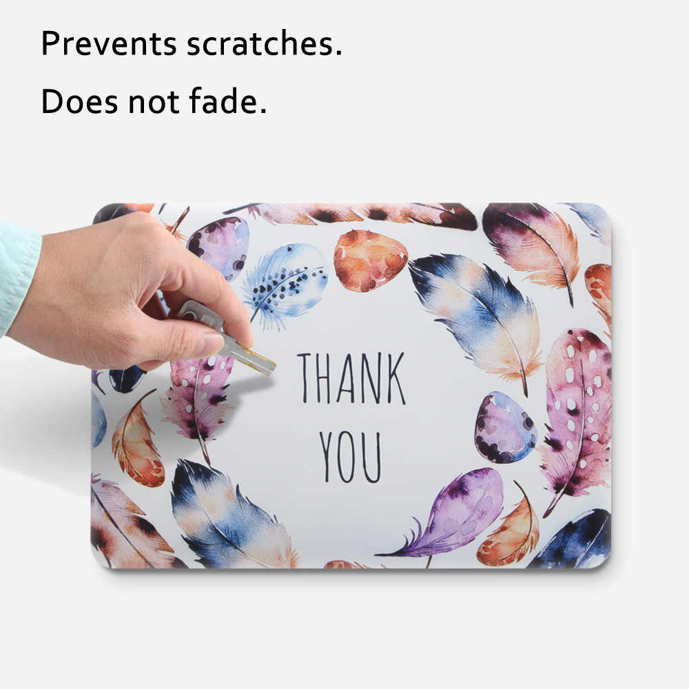 جديد طباعة الفن ريشة محمول جراب للماك بوك برو الهواء الشبكية 11 12 13 15 بوصة مع لمسة بار + لوحة المفاتيح غطاء