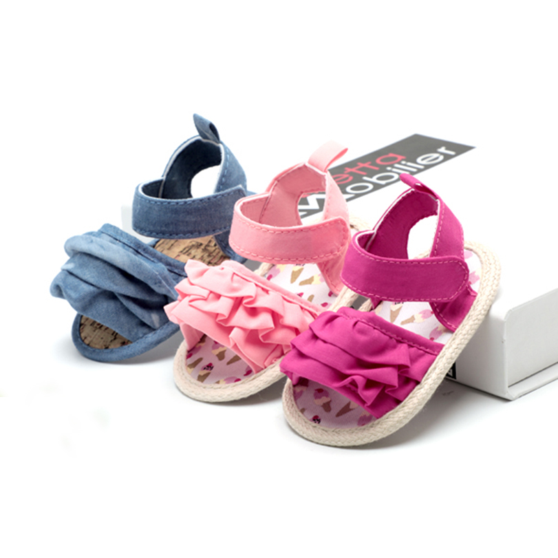 For 0-18 Month Baby First Walkers Infant Boys Sandals Toddler Shoes for Summer