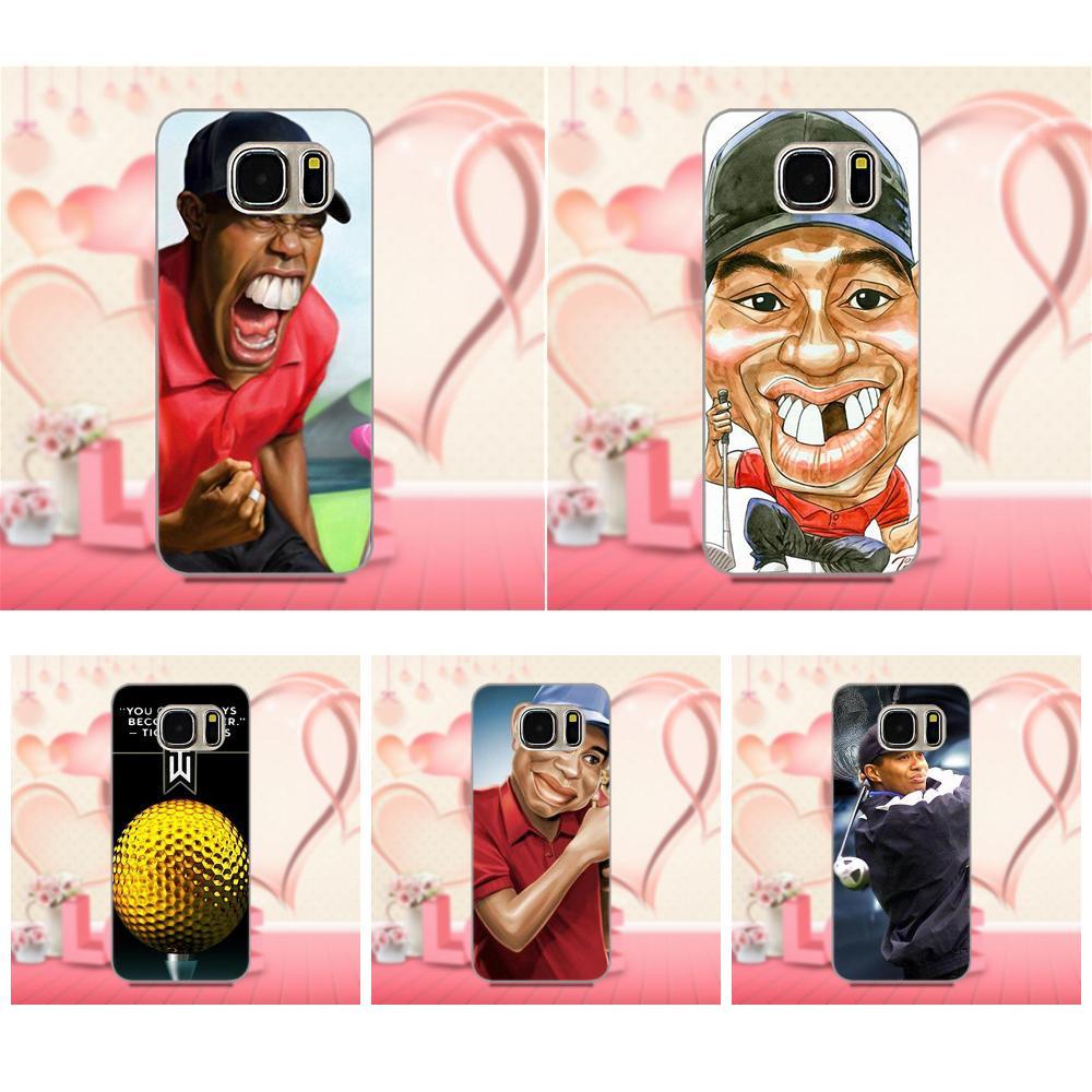 Oedmeb Golf Sports Superstar Tiger Woods Logo For Xiaomi Redmi 5 4A 3 3S Pro Mi4 Mi4i Mi5 Mi5S Mi Max Mix 2 Note 3 4 Plus