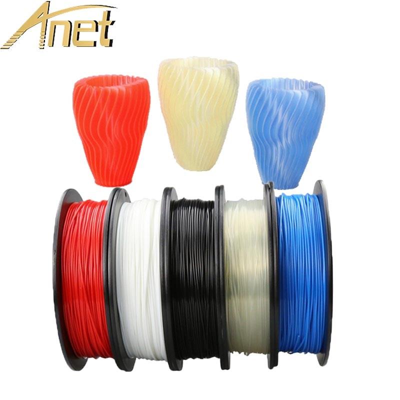 3d Printe Filament PLA 1.75mm 1 kg En Plastique Pour 3d Imprimante Filament 100% Vierge Matériaux Top Qualité Marque 3D filaments pour imprimante