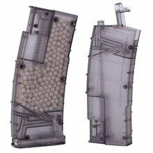 WoSporT Пейнтбол пластиковый BB скоростной погрузчик Airsoft 500rd стрельба Быстрый скоростной погрузчик боевые военные игры Охота пуля Перевозчик
