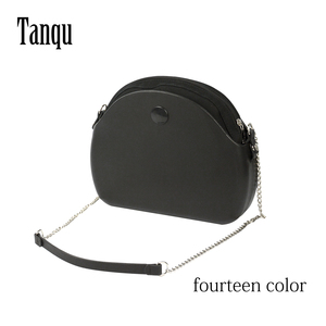 Image 1 - Tanqu חדש O תיק ירח אור גוף עם ארוך שרשרת עמיד למים פנימי כיס תיק גומי סיליקון O ירח אור Obag נשים תיק