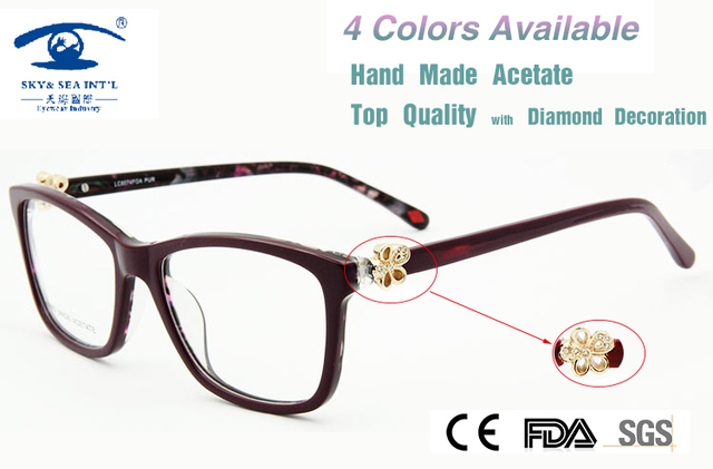 3e85b11f0 New 2015 Brand Design in London armacao de oculos de grau feminino Luxury  Eye Glass Myopia Glasses Women