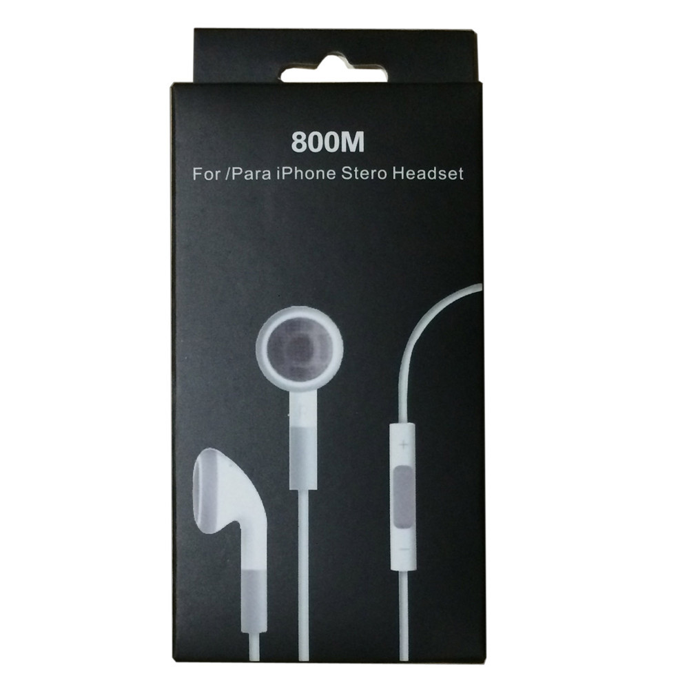 Best quality in-ear noise canceling Earphone With Mic and voice control earbuds for Apple iPhone4 iphone 4 4S 5S with retail box развивающие игрушки smoby пирамидка cotoons