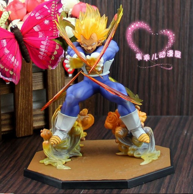 Online Shop Super Saiyan Vegeta Dragon Ball Z PVC Action Figures Anime Figure Birthday Gifts Dragonball