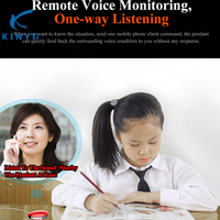 Remote voice monitoring strange call reject smart finder with GPS SOS safer design for anti loss kids children guard with care