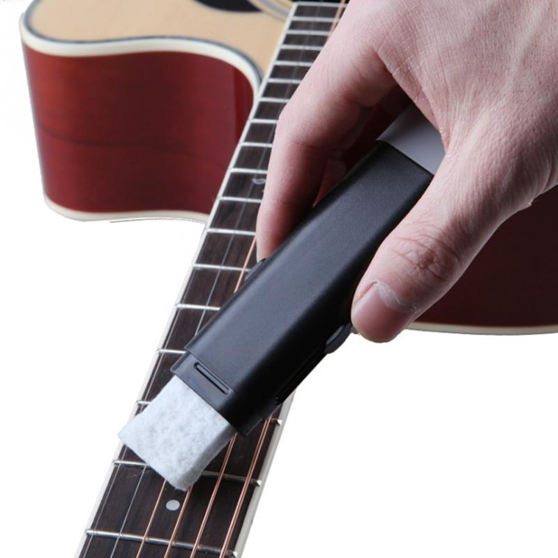 Useful Durable Guitar Bass Stringed Instrument String Scrubber Fingerboard Cleaner Tool Easy And Simple To Handle Guitar Parts & Accessories Musical Instruments