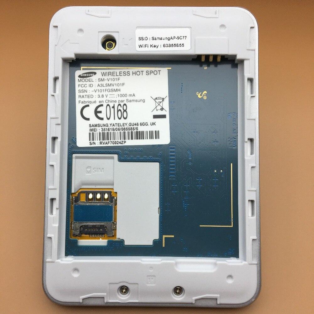 Original desbloqueado Samsung SM-V101F 4G enrutador inalámbrico Cat4 150Mbps móvil Hotspot bolsillo Mifi 4G módem PK E5573 e5577 ZTE MF923 - 4