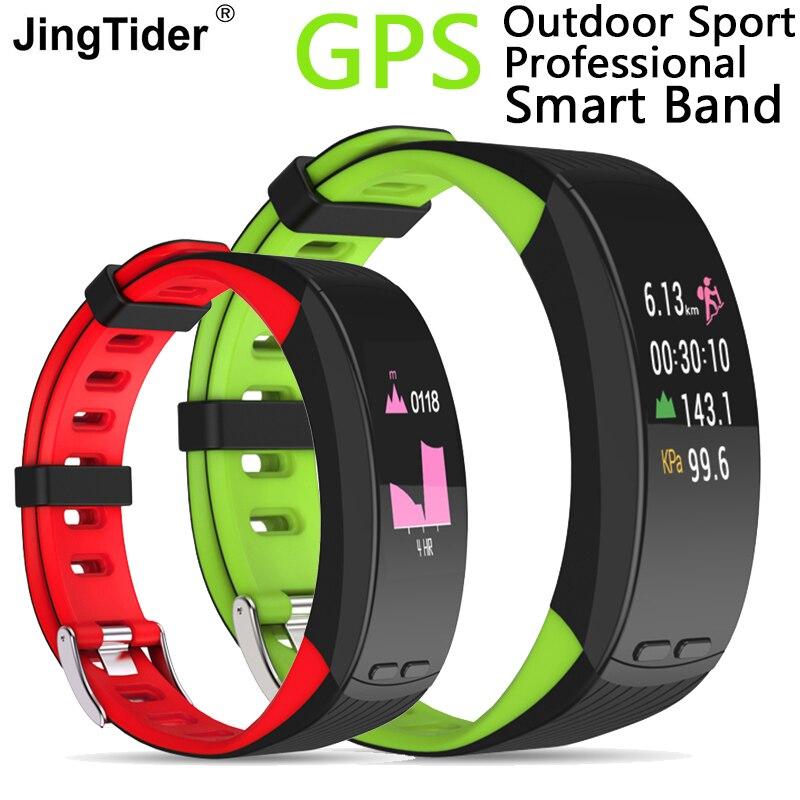 P5 Plus GPS Sport Smart Band 0 96 Color Display Bracelet Heart Rate Blood Pressure Monitor