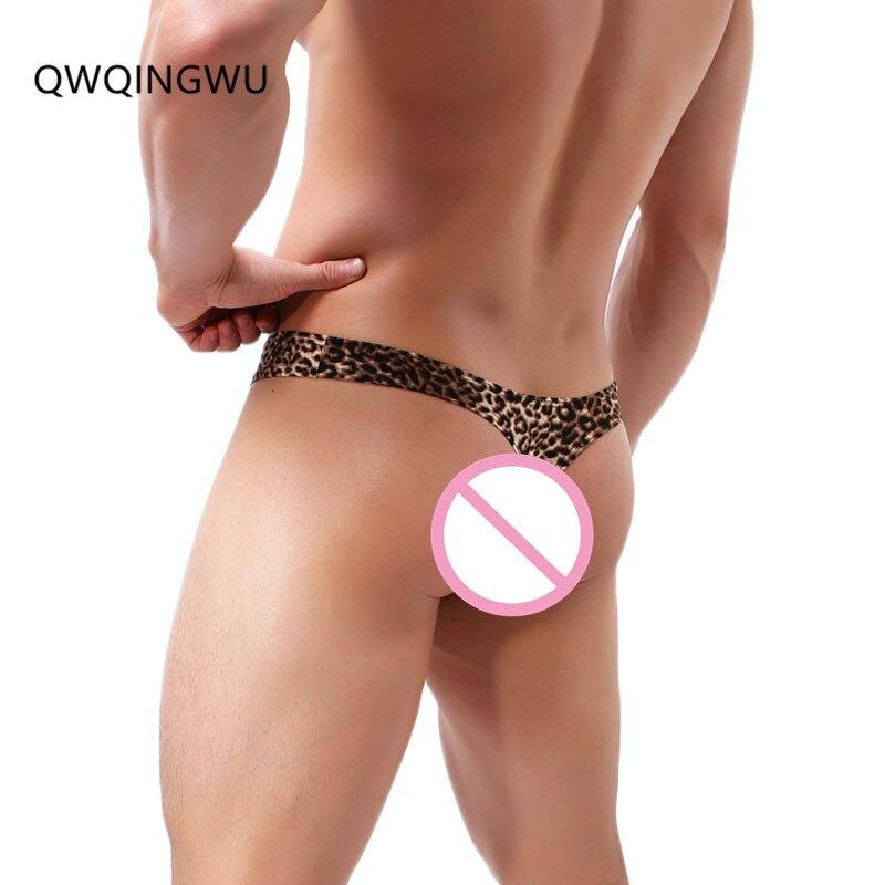 Mens Bulge G strings Briefs Sissy Plus size Thongs Underwear Trunks Solid