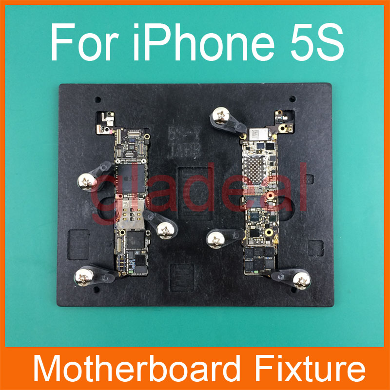 High Temperature Resistant Motherboard PCB Fixture Holder For iPhone 4 5g 5c 5s 6s 5.5 IC Maintenance Repair Mold Tool Platform high temperature resistant pcb motherboard test fixture jig holder maintenance repair platform for iphone 8 8p 7 7p 6 6s 5 5s