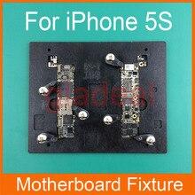 Resistente de alta temperatura pcb placa base soporte de fijación para el iphone 4 5g 5c 5S 6 s 5.5 IC de Mantenimiento de Reparación de Herramienta Del Molde plataforma