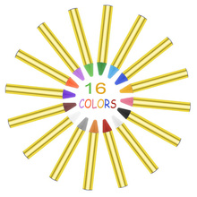 Face Paint Crayons Body Painting Pastel Pen 16 Colors Stick For Children Halloween Party Makeup Clown Ghost Devil for Child Gift