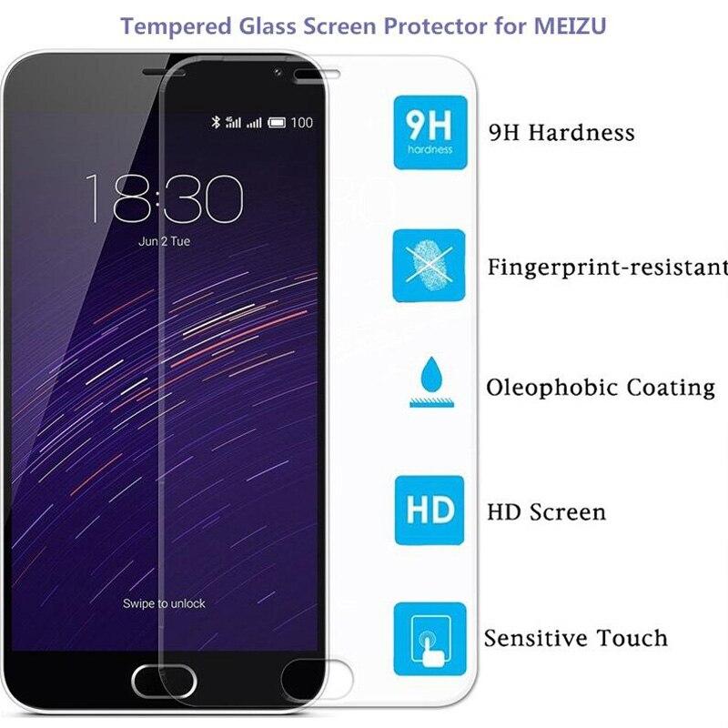 Ультратонкое закаленное стекло 9H для Meizu M2 M3 Note M2 Mini M1 MX4 MX5 MX4 Pro U10 U20 M3E, защитная пленка для экрана