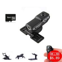 Espion Mini Cam de Sécurité À Domicile Caméra Cachée Sans Fil Carte Mémoire 8 GB Gizli Micro HD Spycam Action Secrète Versteckte
