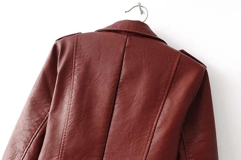 HTB1Qygkb6JTMKJjSZFPq6zHUFXaL Aelegantmis Autumn New Short Faux Soft Leather Jacket Women Fashion Zipper Motorcycle PU Leather Jacket Ladies Basic Street Coat
