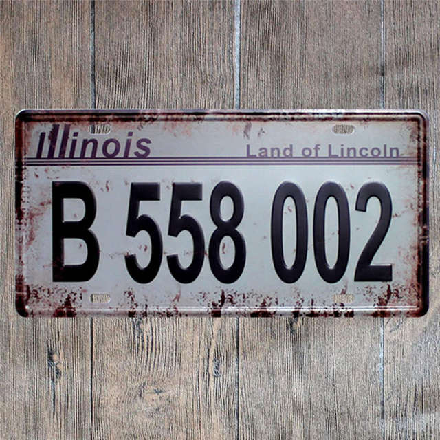 American Car Plates Number