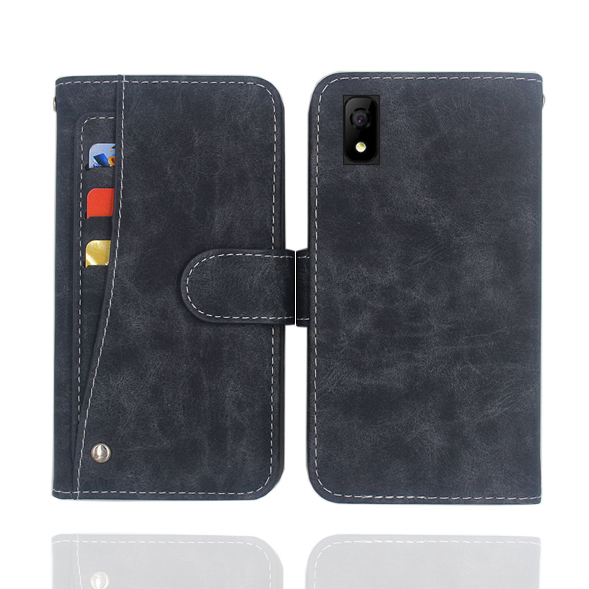 Hot! Elephone A4 Pro Case High quality flip leather phone bag cover case for Elephone A4 Pro with Front slide card slot