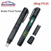 2017 Latest JDiag FT123 Brake Fluid Tester With 5 LED Mini Indicator For DOT3 DOT4 Fluid