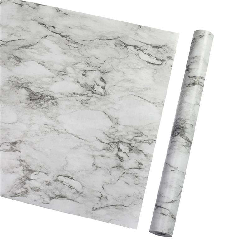 Granite Marble Effect Contact Wall Paper Self Adhesive Wall Sticker Rolling Wallpaper Rolls Sheets Home Garden