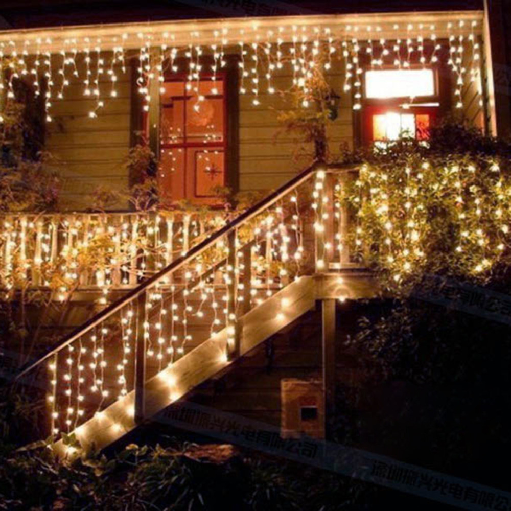 30 Stunning And Creative String Lights Wedding Decor Ideas: 3*1M 150LED Beautiful LED String Light Home Christmas