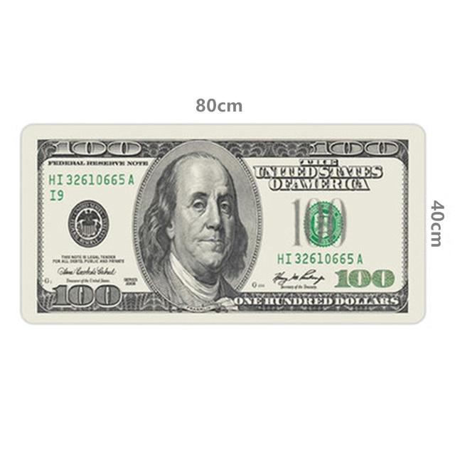80*40 cm XL lớn mousepad Mỹ USA dollar Người Anh cờ trò chơi chuột chơi game pad gamer máy tính xách tay máy tính mat đối với macbook