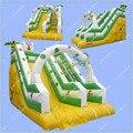 Hot Sale 6 meters Long Inflatable Slide, Commercial Jungle Slide for Rental Business