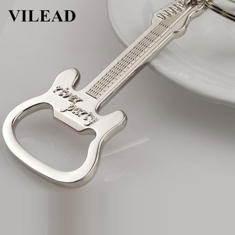 VILEAD Guitar Beer Bottle Opener Keychain Creative Kitchen Accessories Key  Ring Openers Key Handle Gift Kitchen Tool In Openers From Home U0026 Garden On  ...