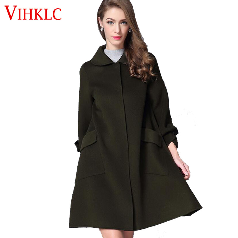 Popular 100 Cashmere Coat Women-Buy Cheap 100 Cashmere Coat Women ...