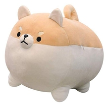40-50Cm New fashion Cute  Fat plush Animal toy little Shiba Inu pillow software doll gift Pillow Cushion Home Decor Gifts
