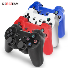 Wireless Bluetooth Gamepad For PS3 Controller Playstation 3 dual-shock game Joystick play station 3 console original 3 colorful wireless bluetooth game controller for sony playstation 3 for ps3 controle joystick gamepad christmas