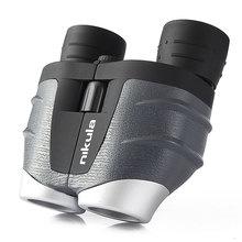 Original telescopio nikula 10-30x25 Zoom binoculars telescope binoculos profissionais bak4 prismaticos for spotting binoculares цена