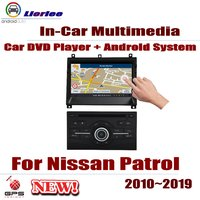 Car Android System Android 8 Core A53 Processor IPS LCD Screen For Nissan Patrol 2010~2019 Radio DVD Player GPS Navi
