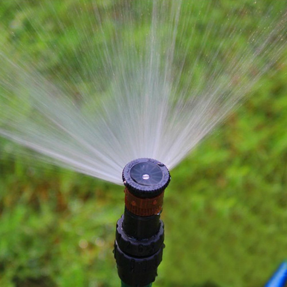 1/2 Inch Female Practical ABS Water Spray Misting Sprinkler Easy Install Rotating Nozzle With Screen Filter Garden Irrigation
