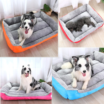 S-3XL Dogs Bed With Waterproof Bottom In 11 Colors 2