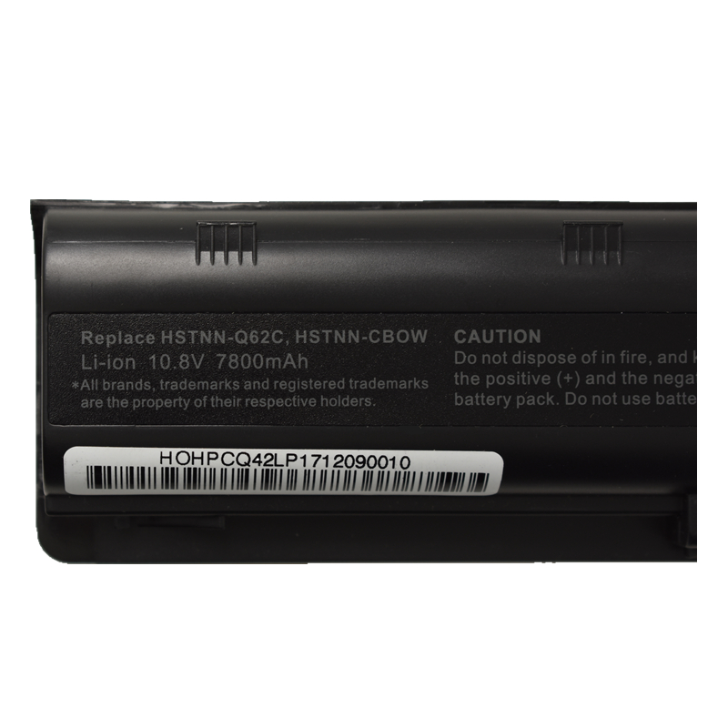 HSW new 7800MAH laptop battery for hp pavilion g6 battery DV3 DM4 G32 G4 G42 G62 G7 G72 for Compaq CQ32 CQ42 CQ43 CQ56 CQ62 CQ72 in Laptop Batteries from Computer Office