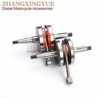 High Quality Crankshaft 12mm For Minarelli Yamaha DT50R DT50 DT 50 R TZR50 TZR AM345 AM6