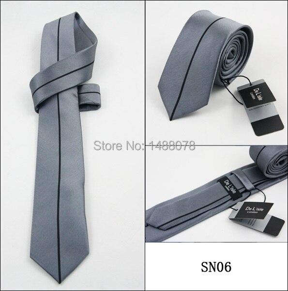 Black Striped Gray Ties 2M8-1+