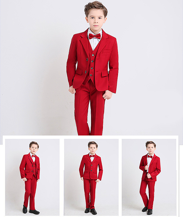2018 Fashion Baby Boys Kids Blazers Boys Suits For Weddings Prom Formal Suit Wedding Boy Suits Costume Enfant Garcon Mariage