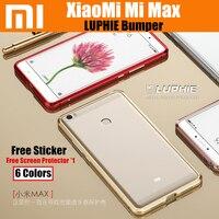 Mi Max Bumper Luphie Original Luxury Ultra Thin Aircraft Aluminum Metal Frame For Xiaomi Mi Max