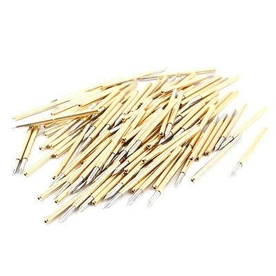 100 Pcs P125-B 1.7mm Spear Tip 32mm Length Spring Testing Probes Pin b spear spear multimate tm user s guide pr only