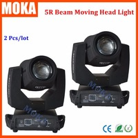 2pcs/lot Touch Screen Sharpy Beam 200W 5R Moving Head Sharpies 5R beam moving head light dmx control double focus light