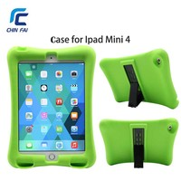 ZH 5020 For IPad Mini 4 Protective Shell Shock Proof Soft Silicone Case With Stand And