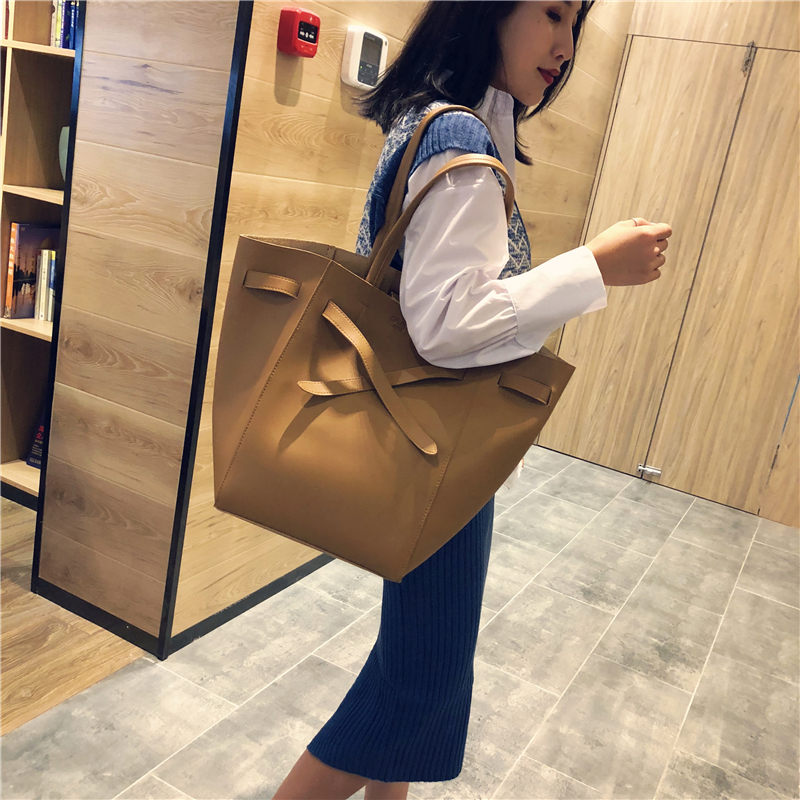 New Women Handbags Pu Leather High Quality Ladies Shoulder Bag Large Composite Bags Female Solid Casual Tote Bag Bolsa Feminina reprcla brand designer handbags women composite bag large capacity shoulder bags casual ladies tote high quality pu leather page 8